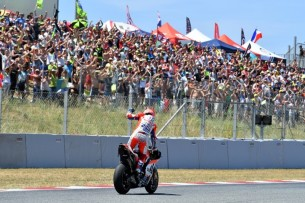 Довициозо, победа   MotoGP Гран-При Каталонии 2017    00470