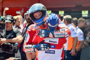 Довициозо, победа   MotoGP Гран-При Каталонии 2017    00472