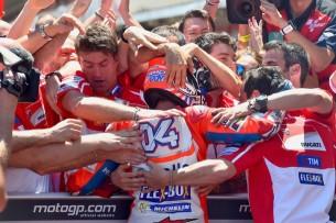 Довициозо, победа | MotoGP Гран-При Каталонии 2017 |  00473