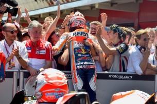 Маркес, команда   MotoGP Гран-При Каталонии 2017    00474