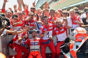 Довициозо, победа   MotoGP Гран-При Каталонии 2017    00475