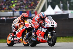 Маркес, Петруччи | MotoGP Гран-При Нидерландов 2017 |  00400