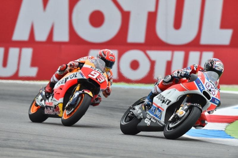 Маркес, Довициозо   MotoGP Гран-При Нидерландов 2017    00410