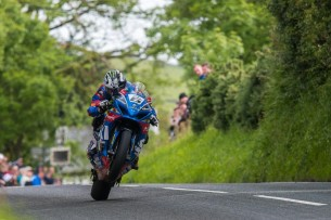 Майкл Данлоп на IOMTT 2017 (T. Goldsmith)