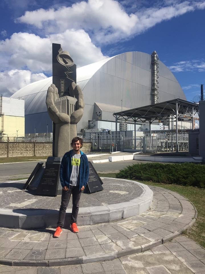 Карел Абрахам в Чернобыле (2017)