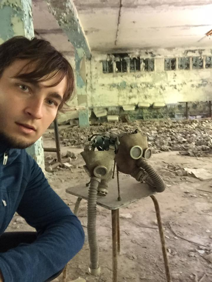 Карел Абрахам в Припяти (2017)