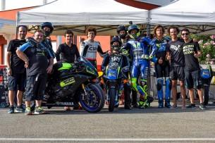 Росси и гонщики Академии VR46 (2017)