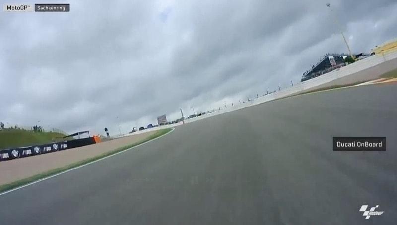 On-Board видео прохождения круга трека Заксенринг на разных мотоциклах