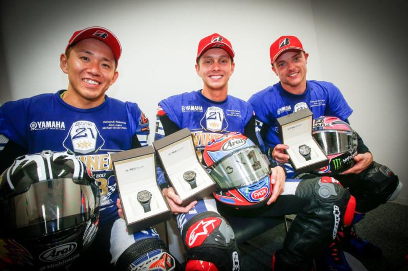 Накасуга, ван дер Марк и Лоус на Suzuka 8-Hours 2017