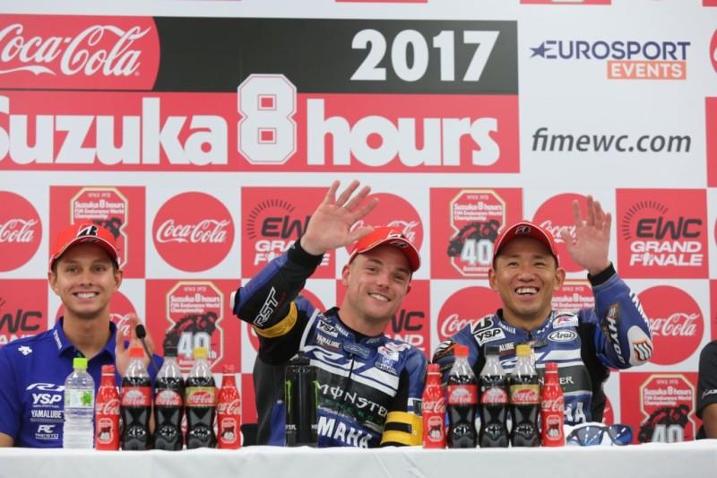 ван дер Марк, Лоус и Накасуга на Suzuka 8-Hours 2017