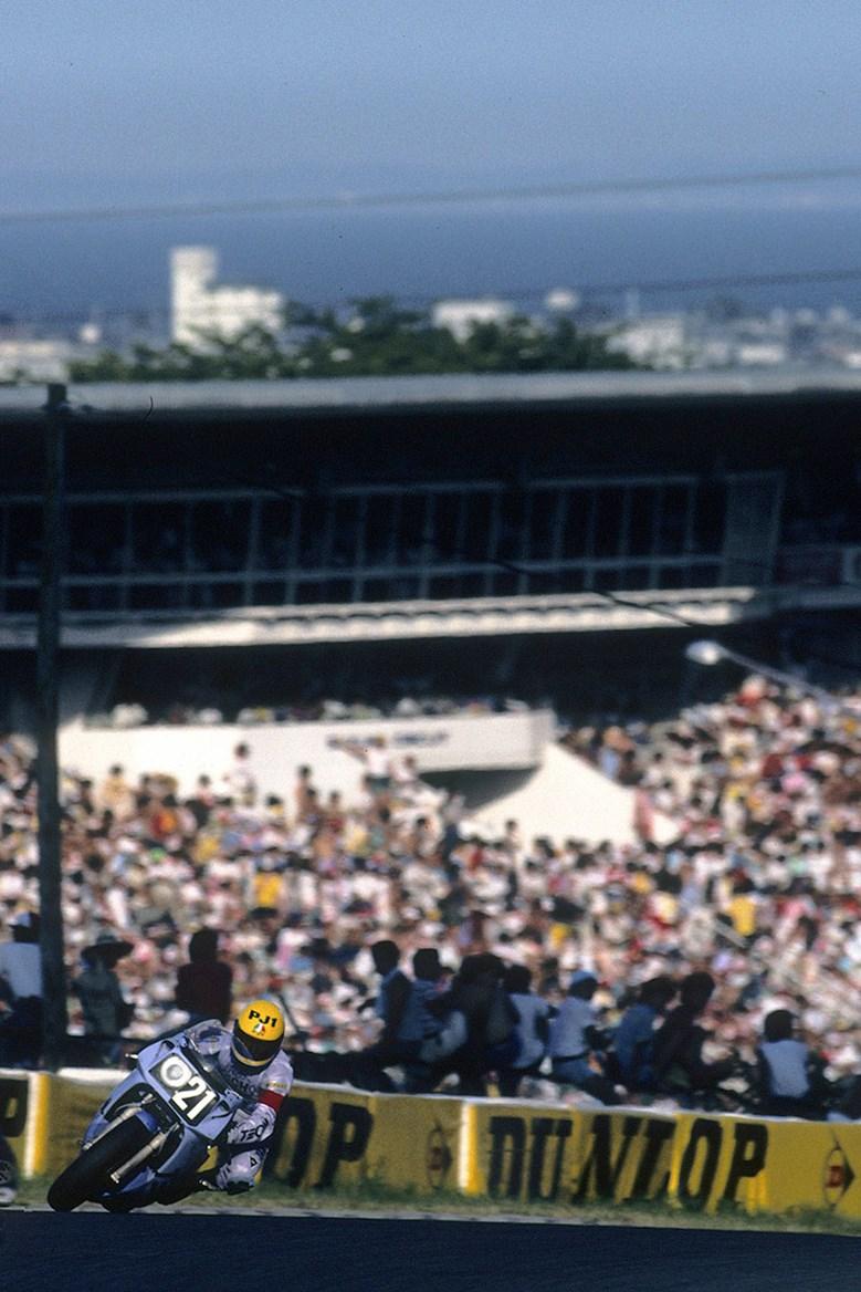 Кенни Робертс на Suzuka 8-Hours 1985