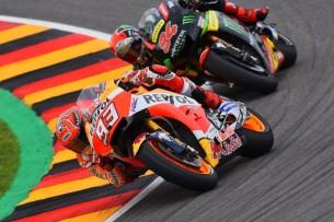 Маркес и Фольгер | MotoGP Гран-При Германии 2017 |  00493