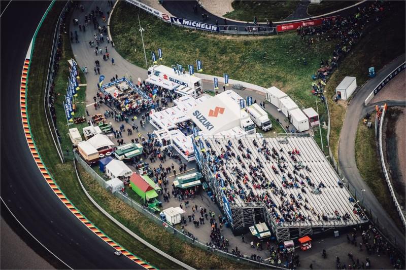 Встреча Suzuki на Гран-При Германии 2017