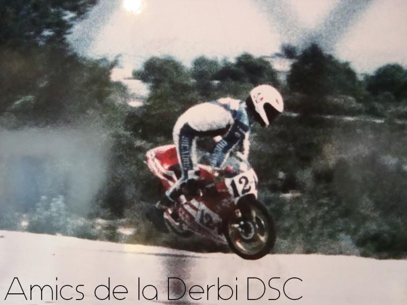 Анхель Ньето на гонках Superprestigio 1986