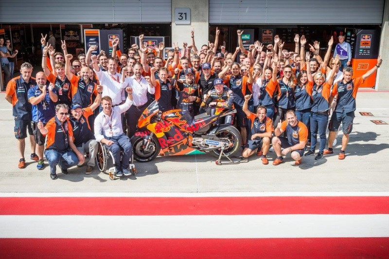 KTM Factory Racing на Гран-При Австрии 2017