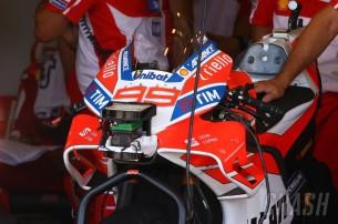 Лоренсо, обтекатель, Ducati