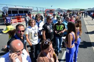 Болельщики, Фанаты   MotoGP Гран-При Великобритании 2017    00369