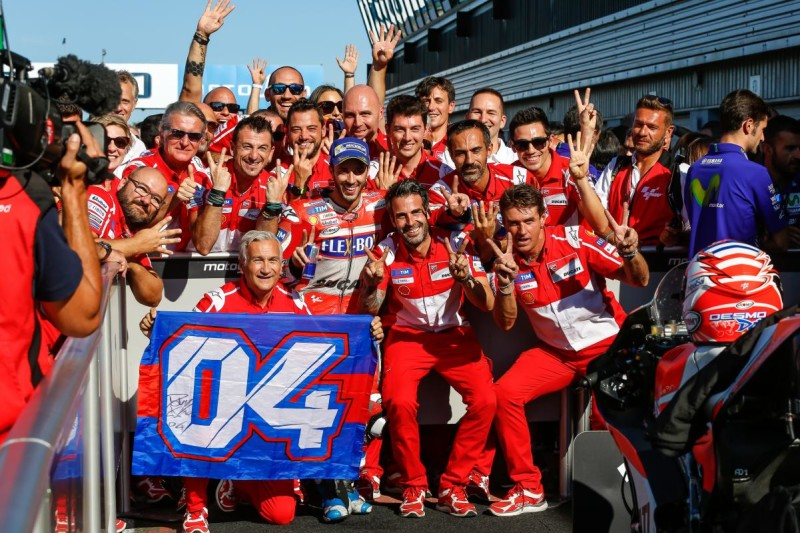 Андреа Довициозо, Ducati, победа