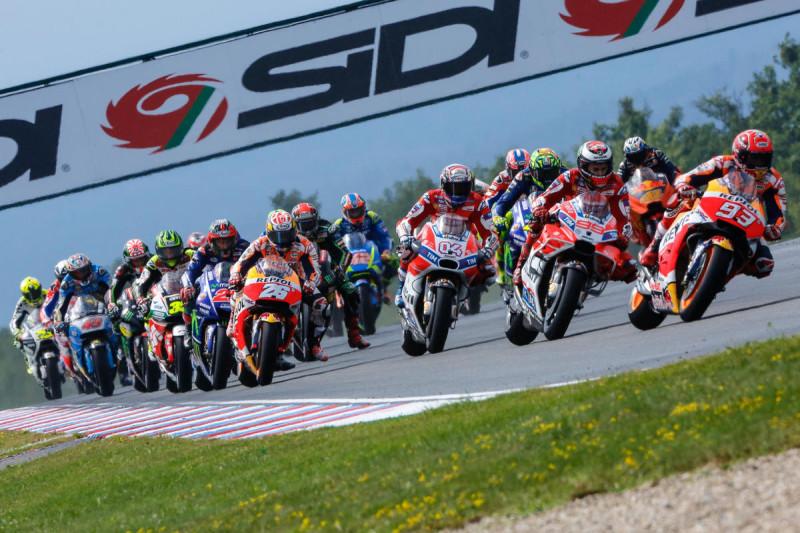 Гонка MotoGP Гран-При Чехии 2017