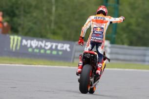 Марк Маркес, победитель Гран-При Чехии
