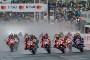 Старт гонки MotoGP Гран-При Сан-Марино, Мизано 2