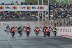 Старт гонки MotoGP Гран-При Сан-Марино, Мизано