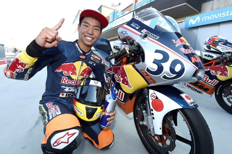 Кадзуки Масаки - чемпион Red Bull Rookies Cup 2017