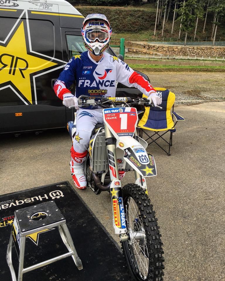 Готье Польен - чемпион Motocross of Nations 2017