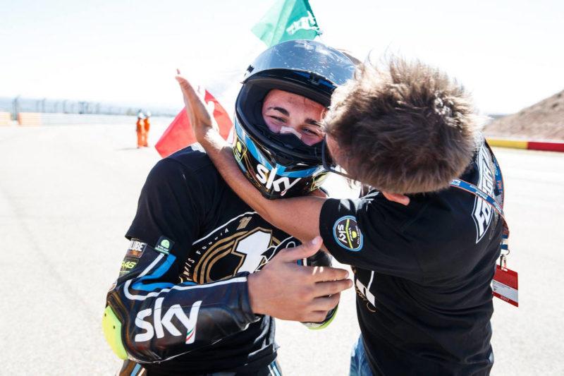Деннис Фоджиа - чемпион CEV Repsol Moto3 Junior 2017