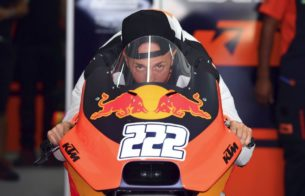 Антонио Кайроли протестировал KTM RC16 (Валенсия, 2017)