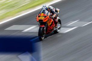 Поль Эспаргаро на тестах MotoGP в Хересе (2017)