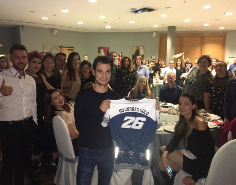 Встреча фан-клуба Дани Педросы