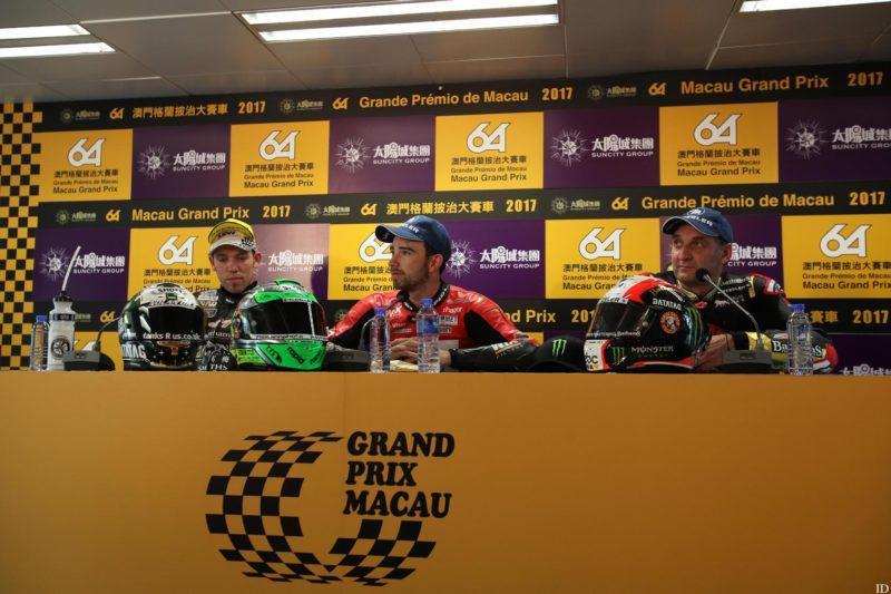 Хикман, Ирвин и Руттер на Гран-При Макао 2017
