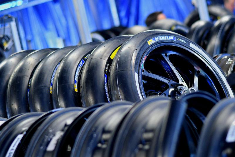 Передние шины Michelin