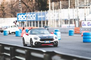 Abarth 124 Spider на Monza Rally Show 2017