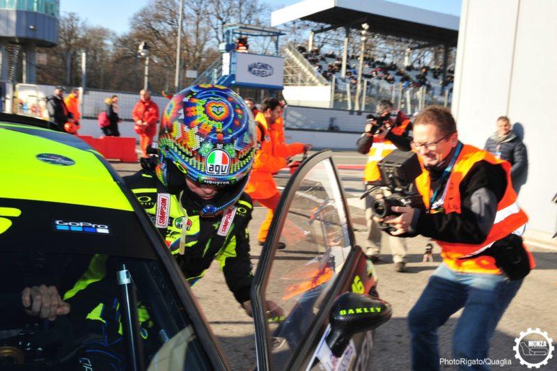 Валентино Росси победил на Monza Rally Show 2017
