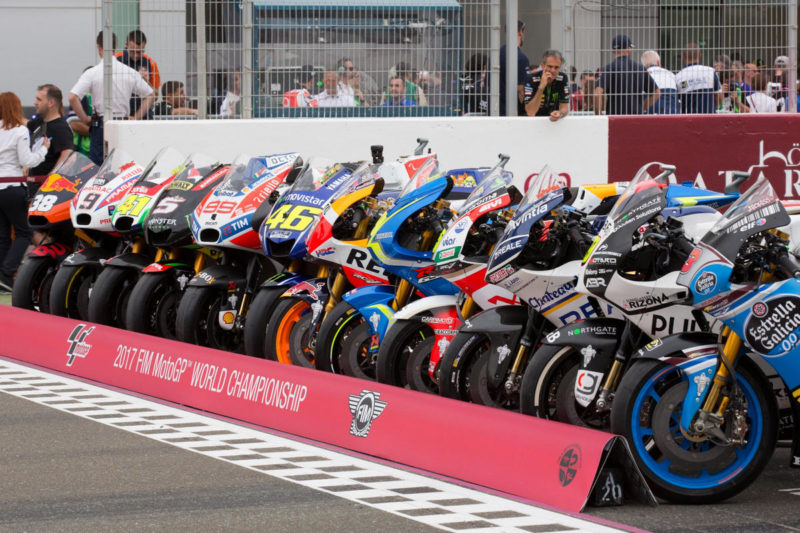Мотоциклы MotoGP сезона 2017