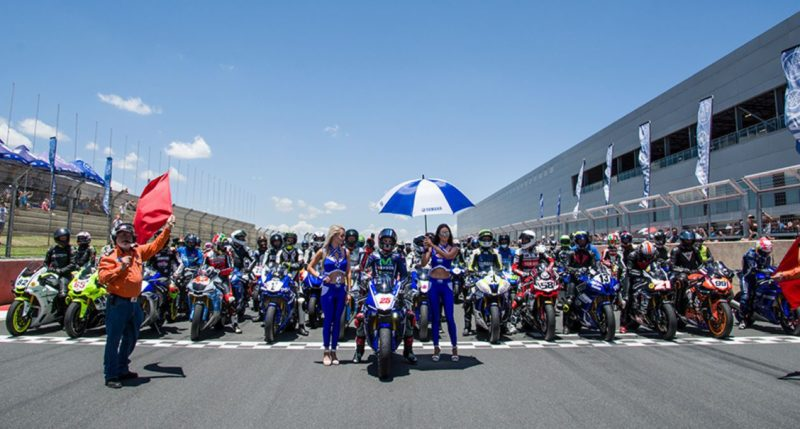 Маверик Виньялес на Yamaha R World Riding Experience