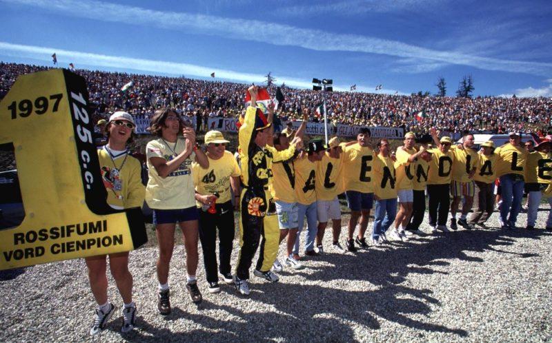 Валентино Росси - чемпион GP125 1997