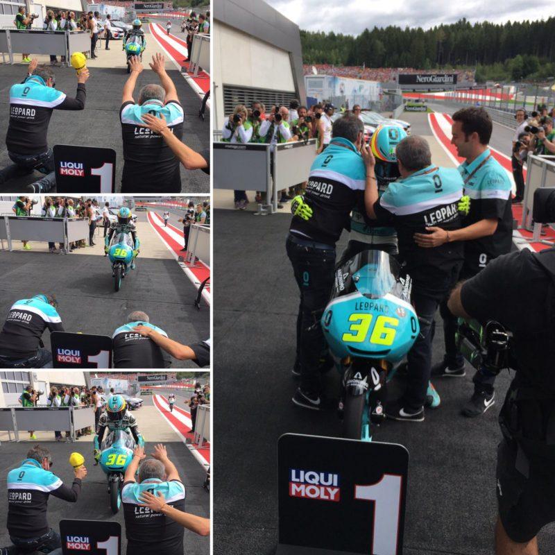 Жоан Мир выиграл ГП Австрии 2017 (Moto3)