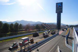 Реконструкция трассы Барселона-Каталунья (2018)
