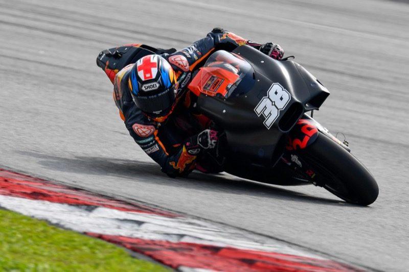 Аэрообтекатель КТМ (тесты MotoGP 2018 в Малайзии)