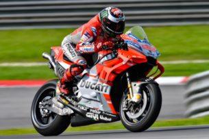Аэрообтекатель Ducati (тесты на Сепанге, 2018)