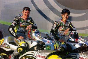 Жак и Накано - пилоты Yamaha Tech 3 (GP250 1999)