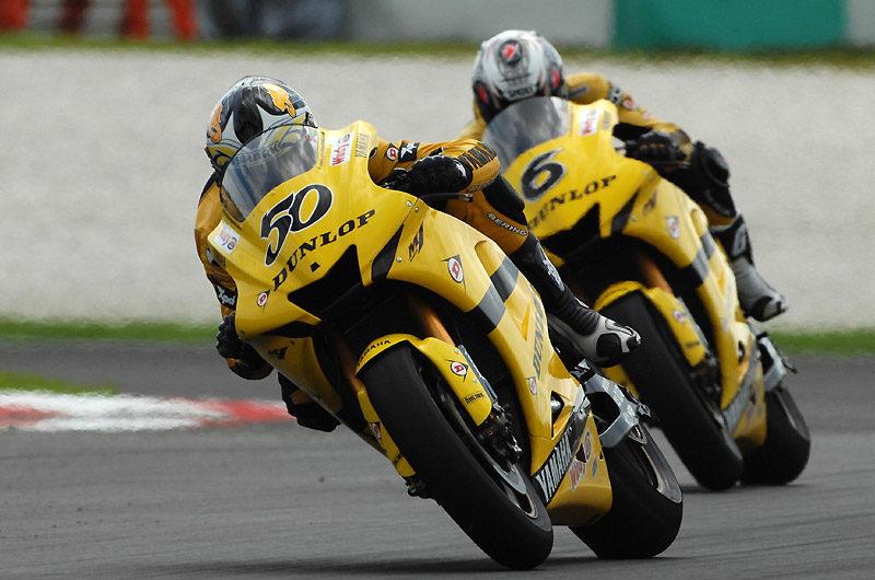 Гвинтоли и Тамада - пилоты Yamaha Tech 3 (MotoGP 2007)