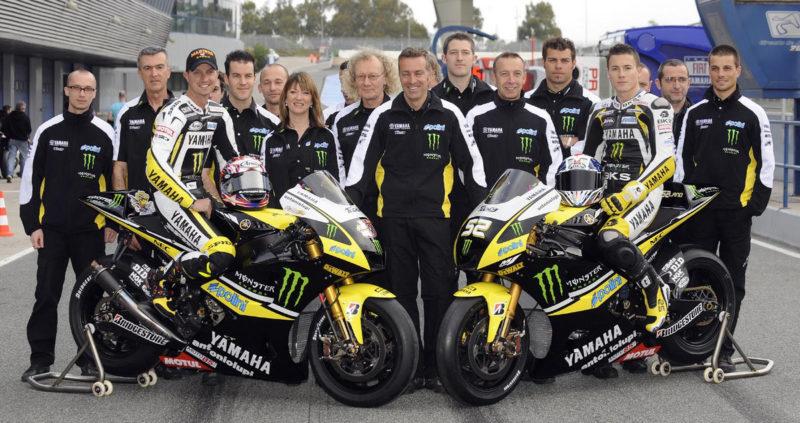 Тоузленд и Эдвардс - пилоты Yamaha Tech 3 (MotoGP 2009)