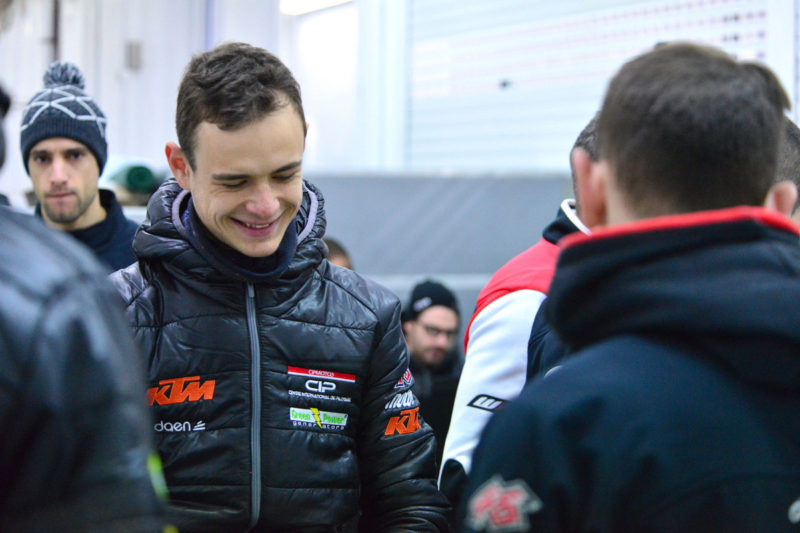 Макар Юрченко (тесты Moto3 2018)