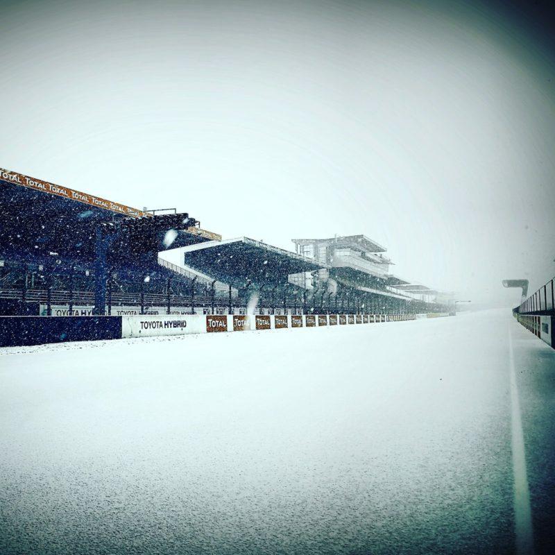 Трек Ле-Ман зимой