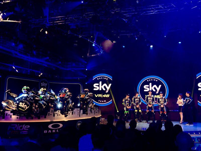 Презентация Sky Racing Team VR46 2018