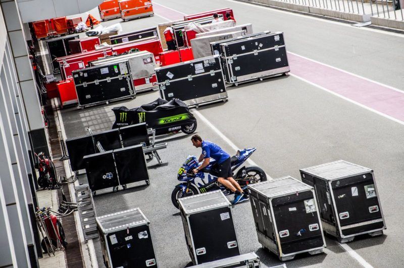 Накануне тестов MotoGP 2018 в Катаре